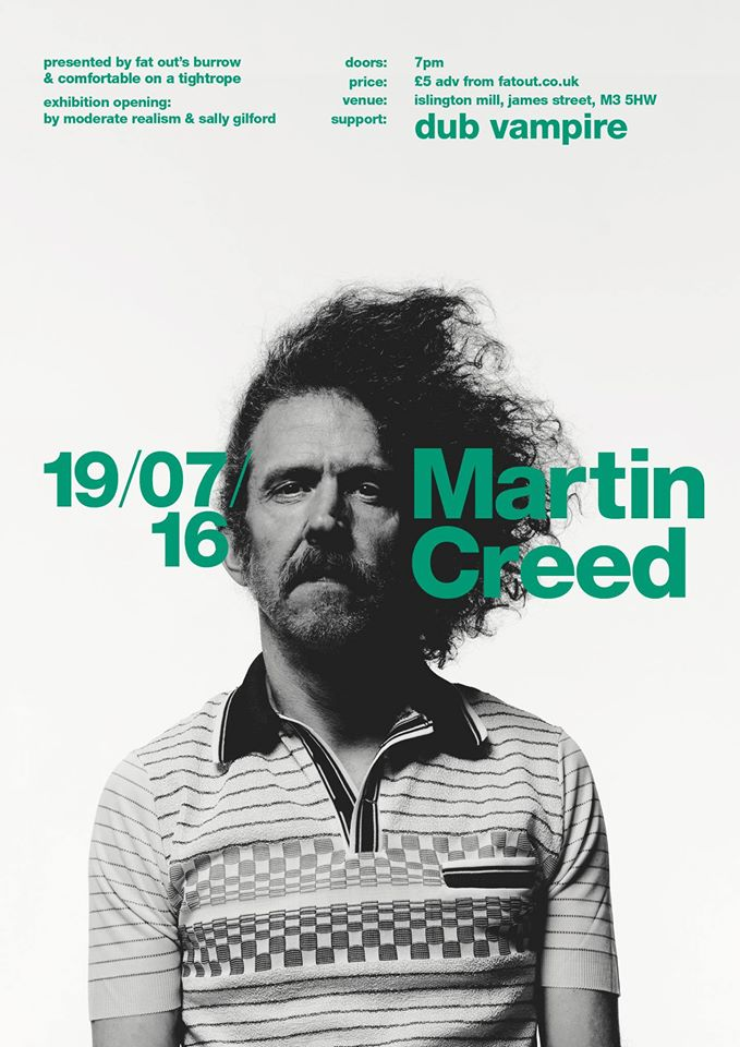 MARTIN CREED / Dub Vampire / Moderate Realism / Sally Gilford
