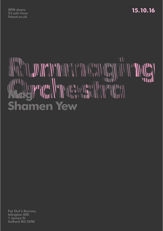 RUMMAGING ORCHESTRA with MAG and SHAMAN YEW