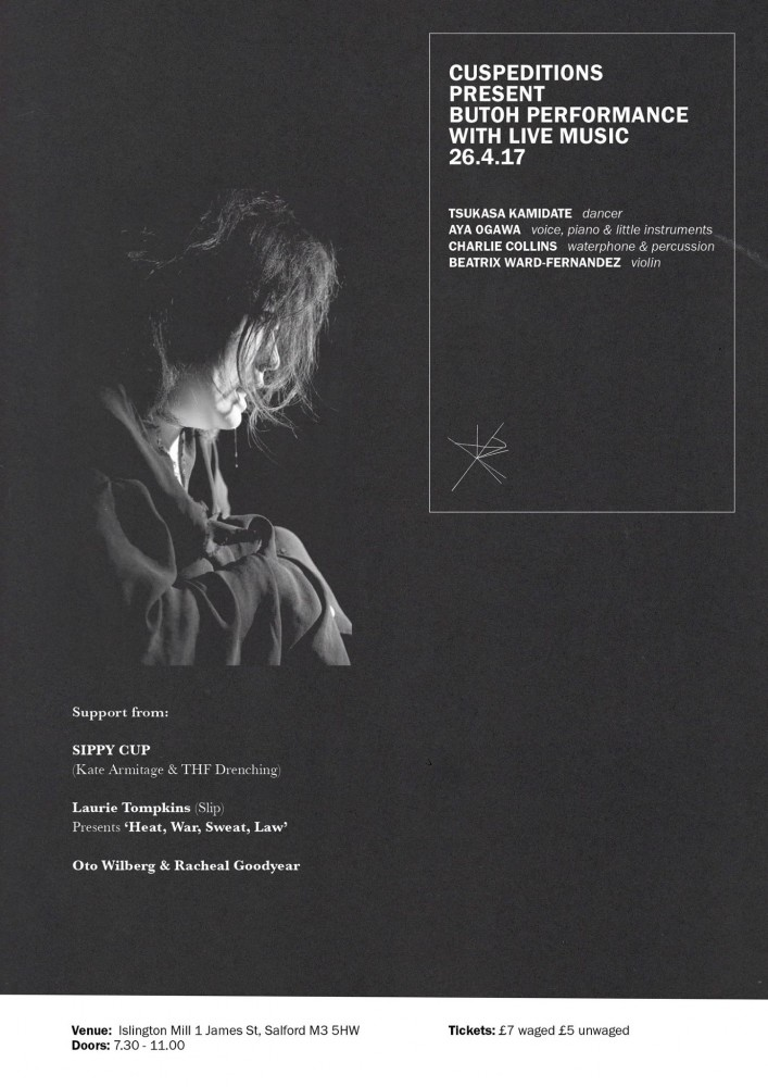 BUTOH PERFORMANCE WITH LIVE MUSIC