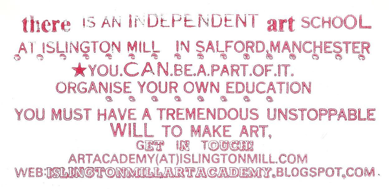Islington Mill Art Academy Info Session & Potluck