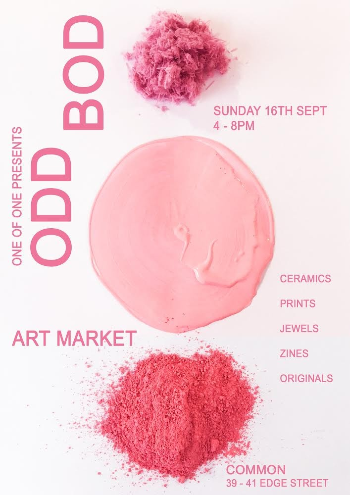 ODD BOD ART MARKET @ COMMON