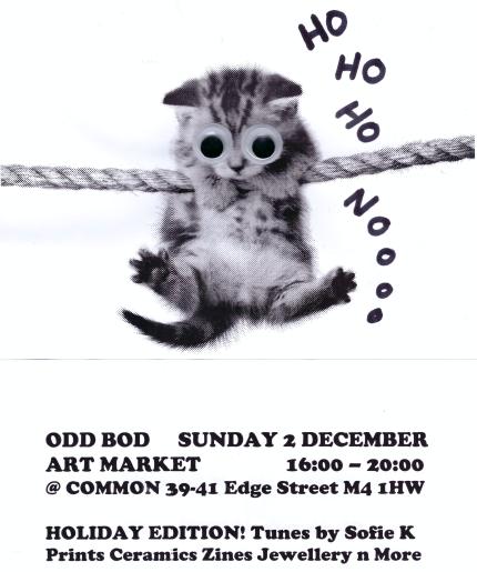 Odd Bod Art Market @ Common