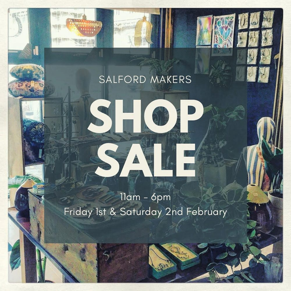 SALFORD MAKERS SALE EVENT