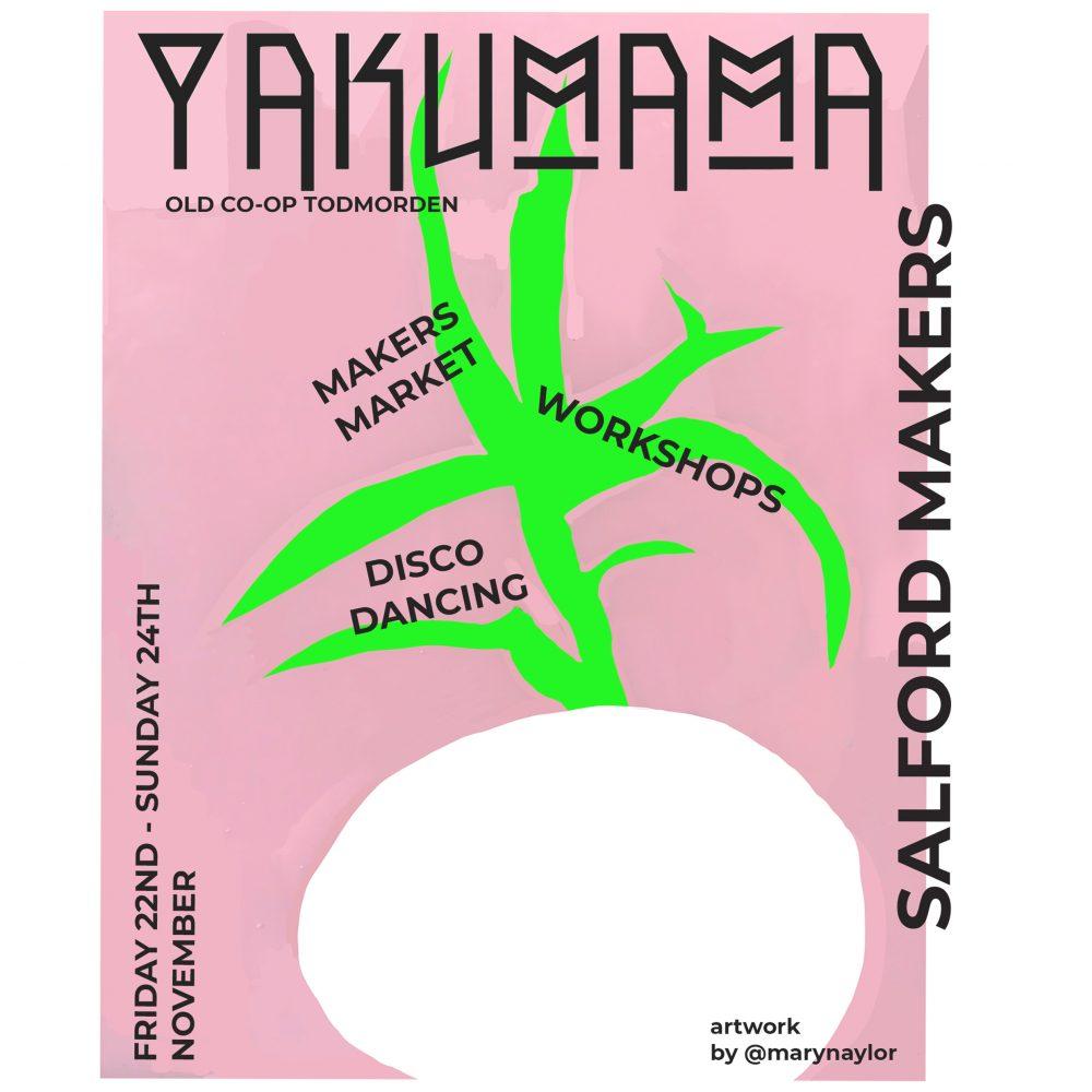 ONE69A / Marble Print Workshop / YAKUMAMA X SALFORD MAKERS WEEKENDER
