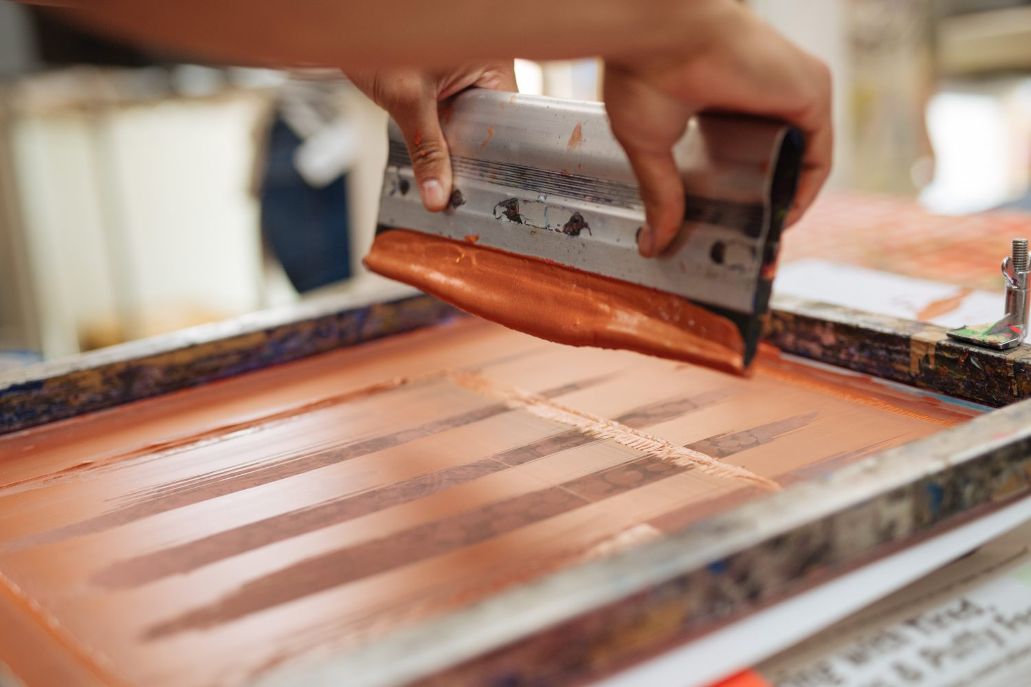 ONE69A / Fabric Screen Printing / Full Day Workshop