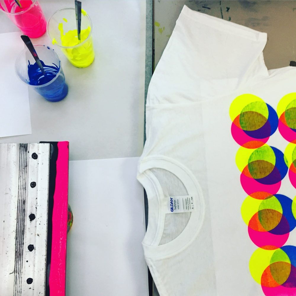 ONE69A / Print Your Own T-Shirt / Evening Workshop