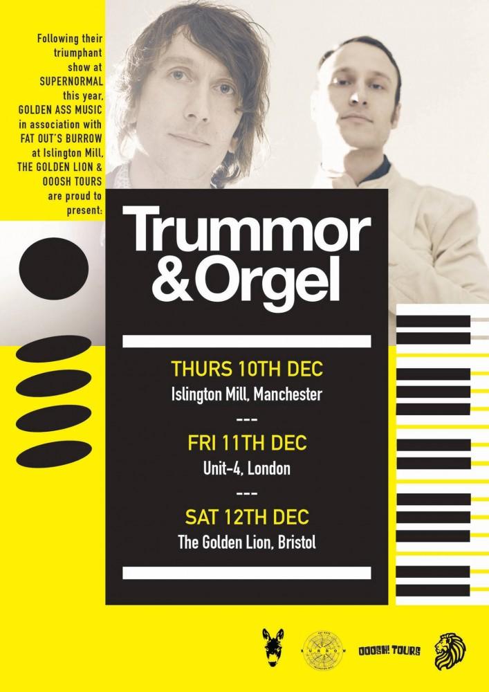 Trummer & Orgel + Barberos Live