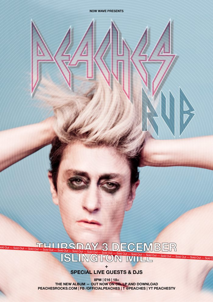 *SOLD OUT* Peaches Live