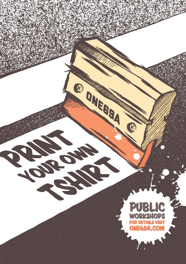One69a T-shirt Printing Workshops