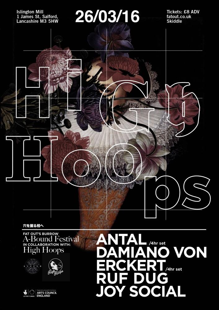 A-Bound Festival Day Four: High Hoops presents Antal (4 hour set), Damiano Von Erckert (4 hour set), Ruf Dug, Joy Social