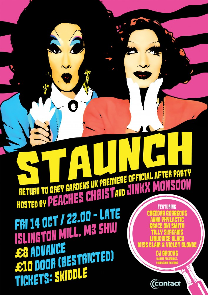 STAUNCH – Return to Grey Gardens official afterparty / Manchester