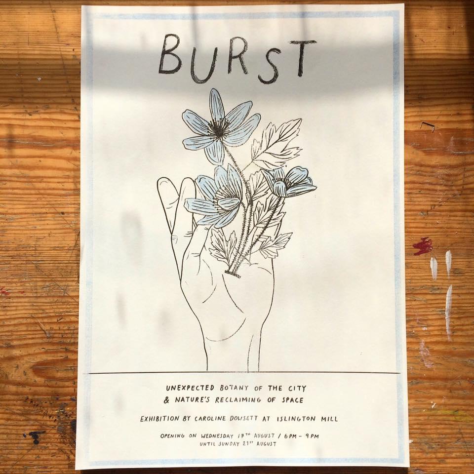 Exhibition Opening // BURST by Caroline Dowsett