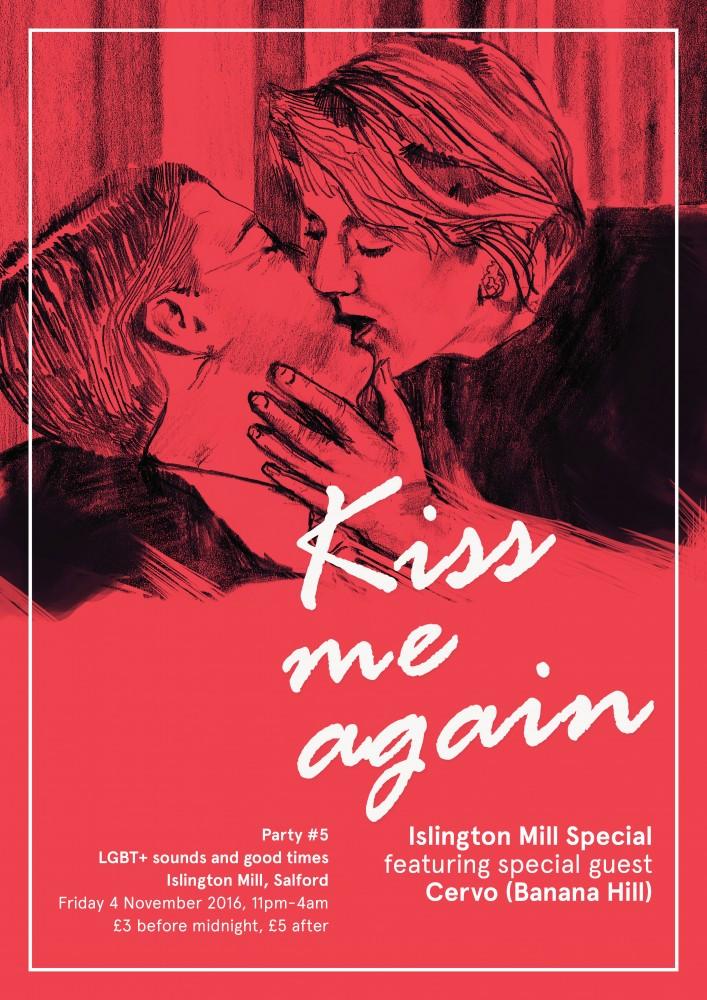 KISS ME AGAIN – SOUP KITCHEN TAKE OVER