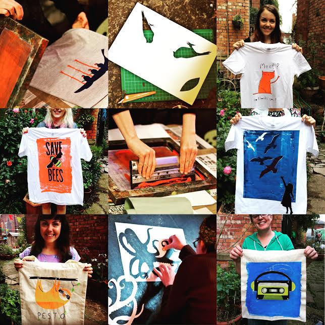 Screen Printing Workshop with One69A
