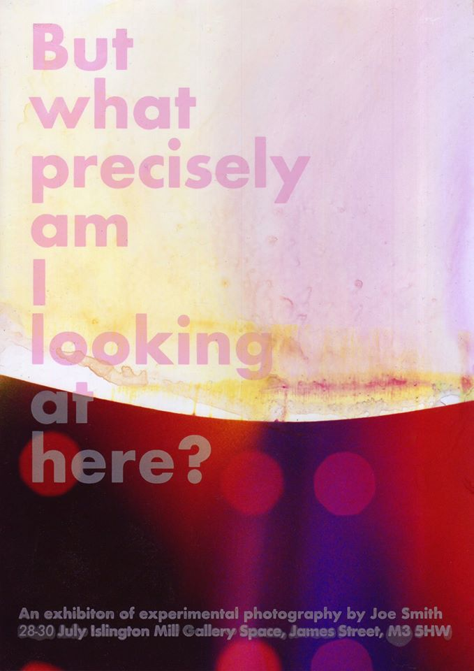But what precisely am I looking at here? (A Photography Exhibition)