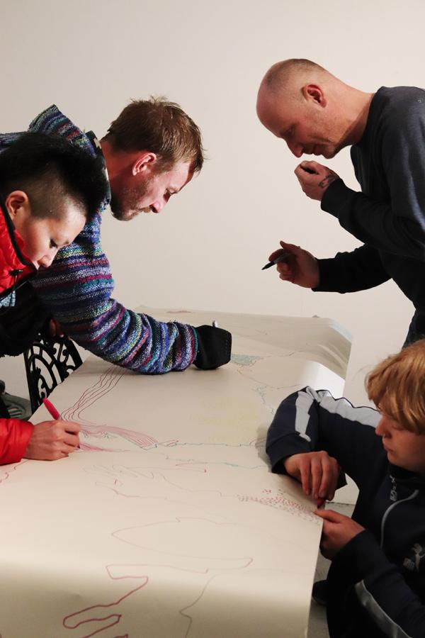 Islington Mill Art Academy Workshop // CRITS
