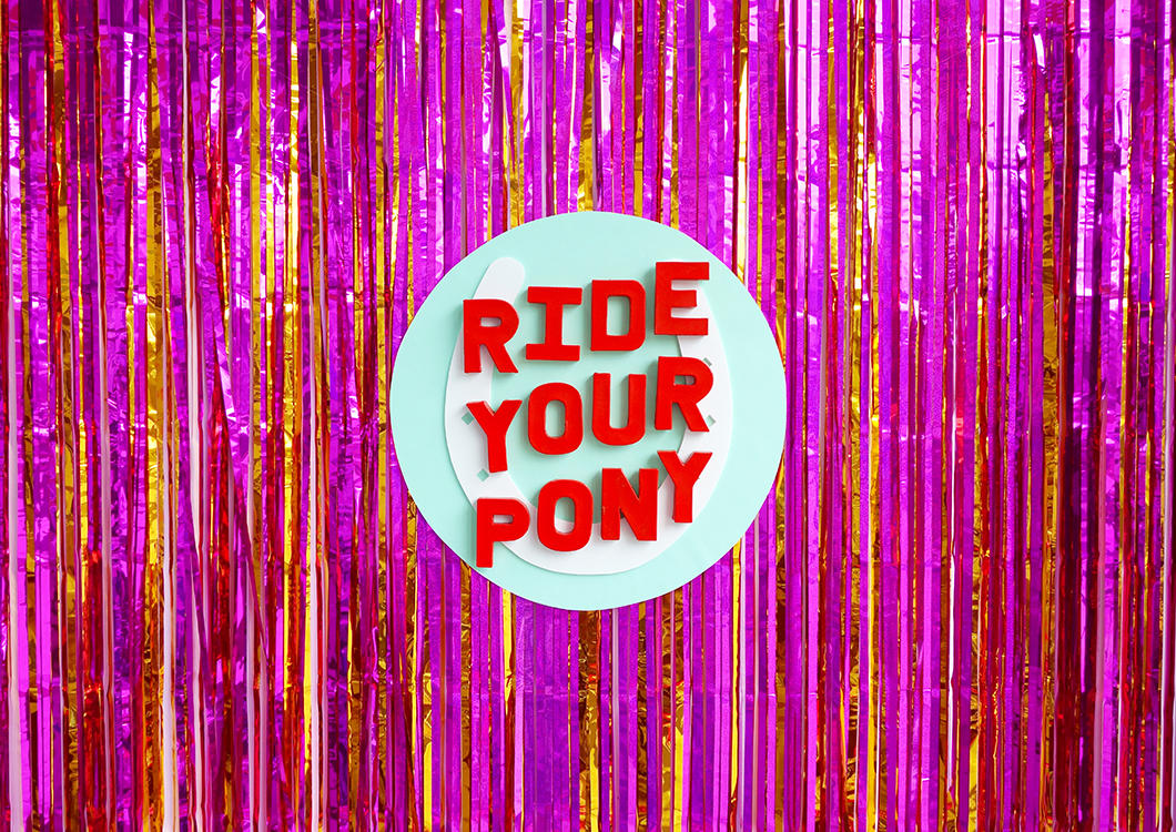RIDE YOUR PONY No.02 // Liverpool Independents Biennial