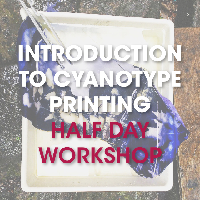 Introduction to Cyanotype Printing / Half Day Workshop