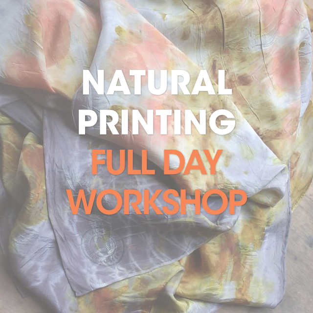 Natural Printing / Full Day Workshop