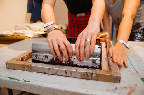Salford Makers / Print Your Own T-shirt / Half Day Workshop