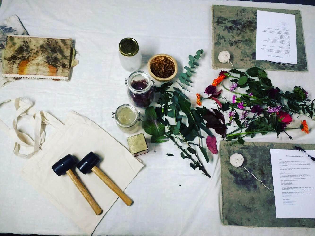 Salford Makers / Hape Zome Printing / Evening Workshop