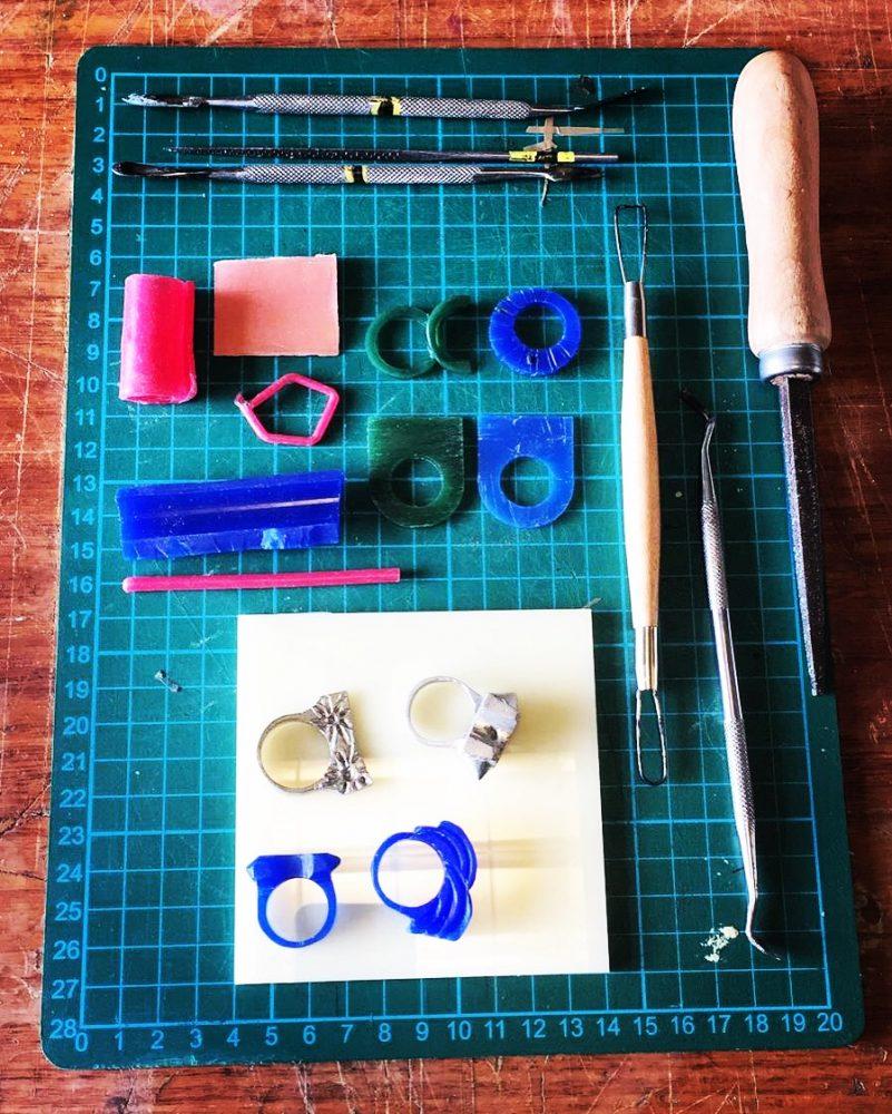 Salford Makers / Silver Ring Carve & Cast / Half Day Workshop