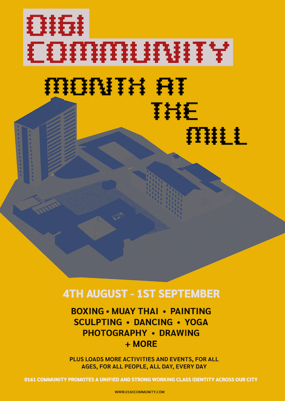 0161 Community: Month at the Mill