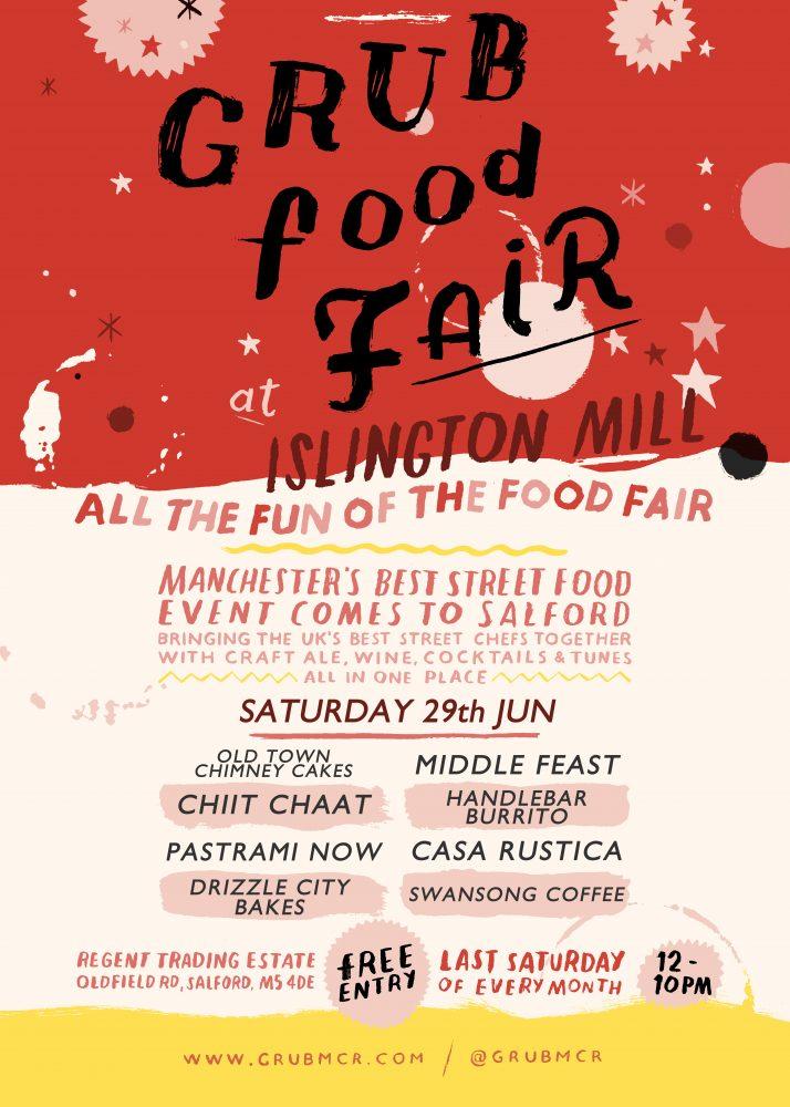 GRUB Food Fair at Islington Mill: JUNE