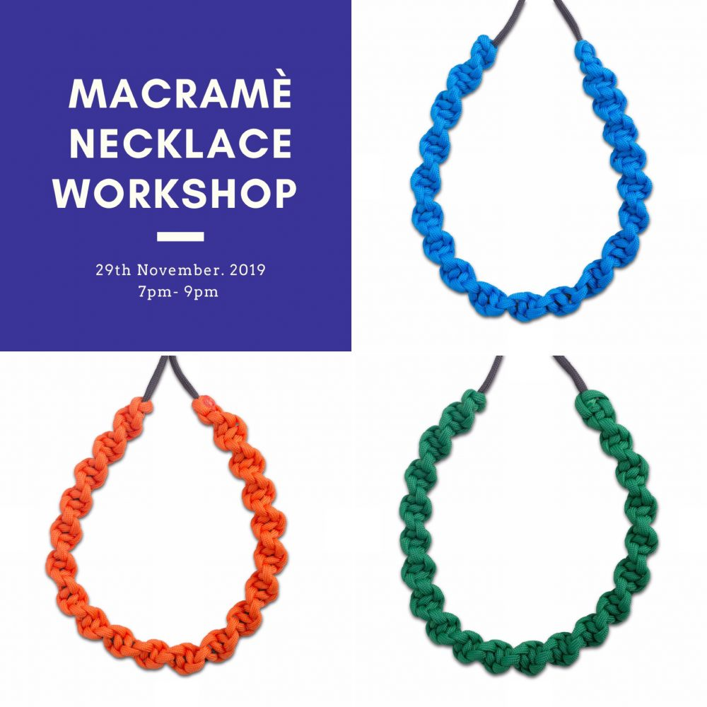 Macramé Necklace Workshop