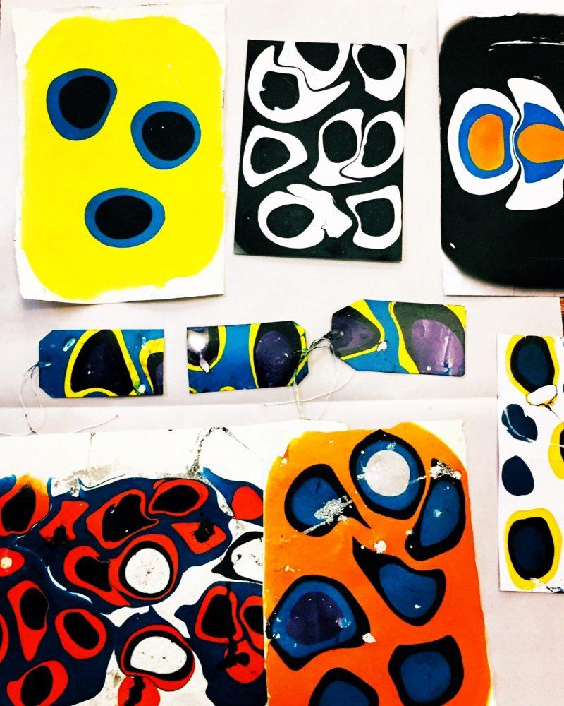 ONE69A / Marble Print Workshop / Evening Workshop